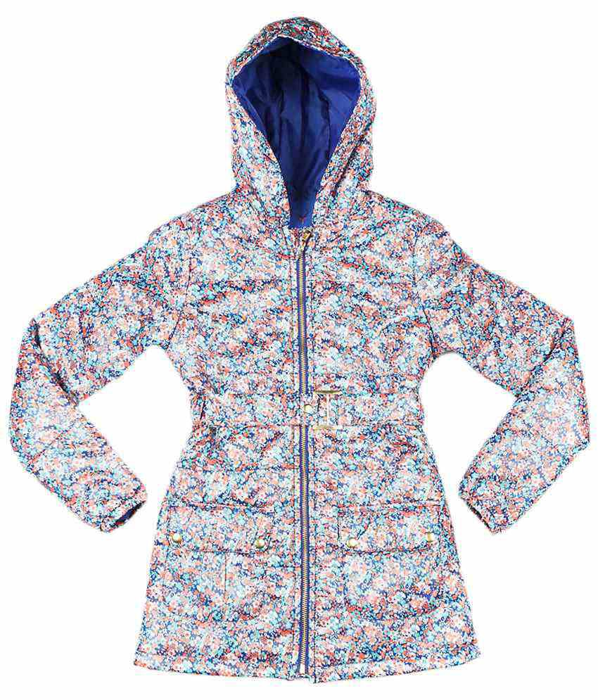 Allen Solly Multicoloured Full Sleeve Hooded Jacket