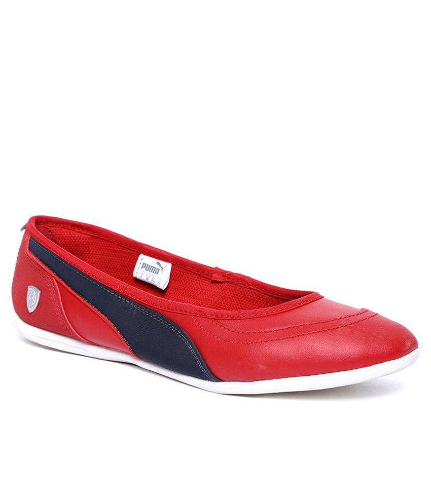 Puma La Ballerina Red Belly Shoes Price