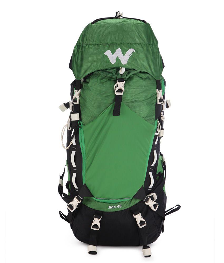Wildcraft Green Hiking Backpack
