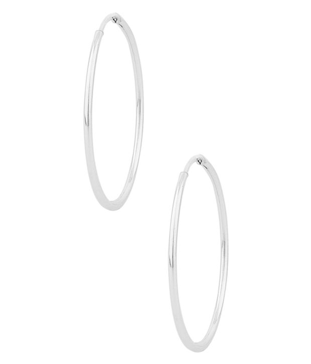 D&D Silver Style Diva Hanging Earrings