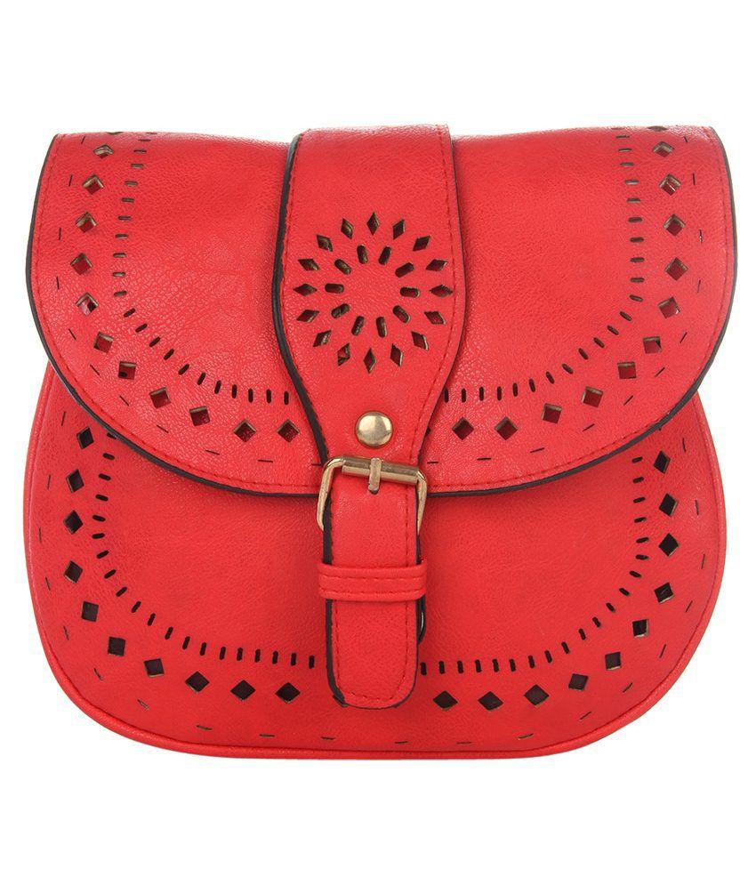 Dice Sling Bag-Red