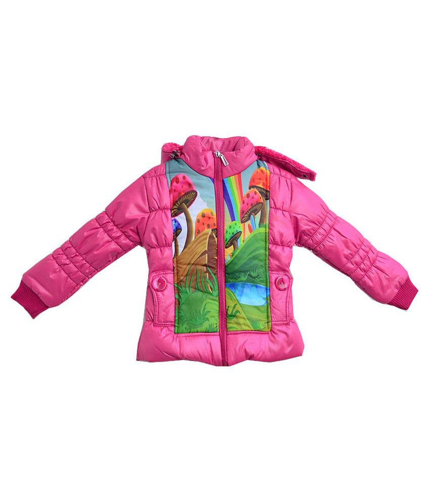 London Girl Pink Jacket For Girls