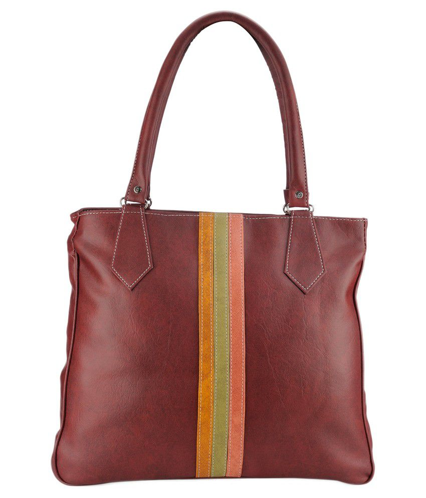 Zentaa Maroon Shoulder Bag