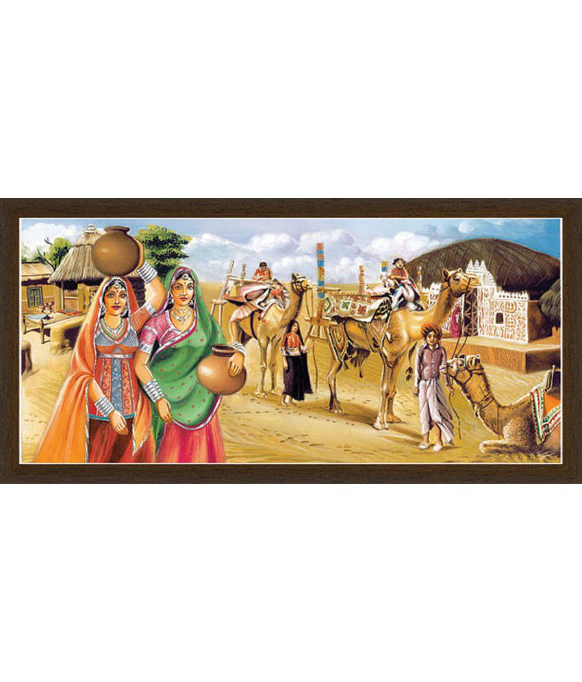 Parag Kota Multicolour Painting Without Frame