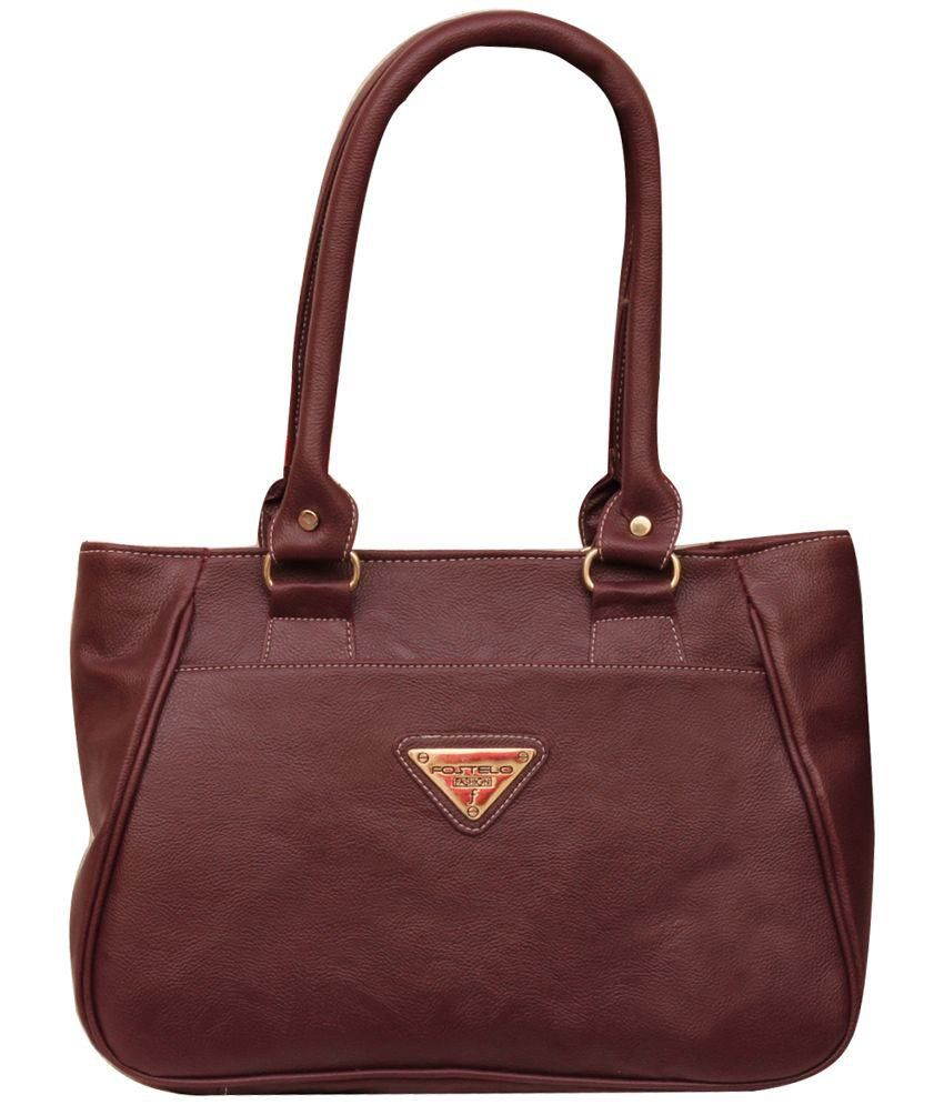 FOSTELO FSB-330 Brown Shoulder Bags
