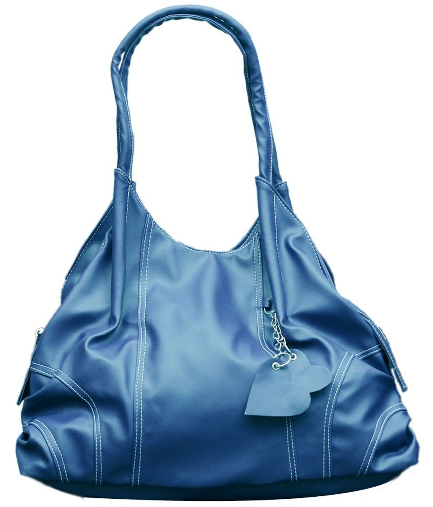 Fostelo Blue Designer Shoulder Bag