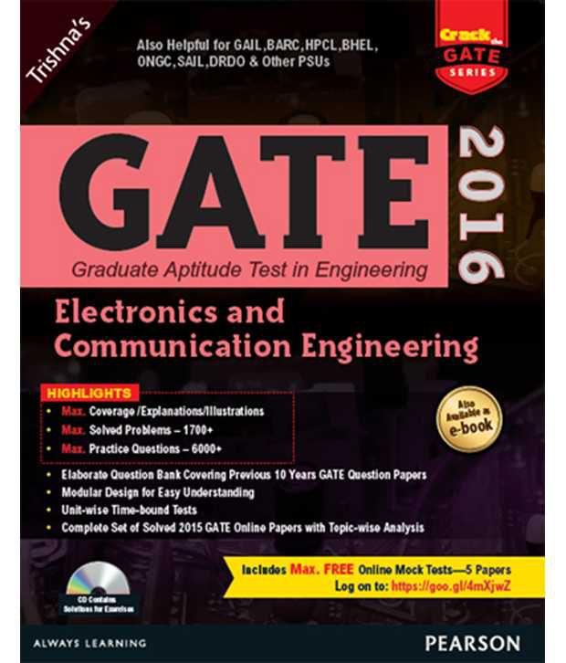 Gate Electronics And Communication Engineering 2016, 2\/E Pb: Buy Gate Electronics And