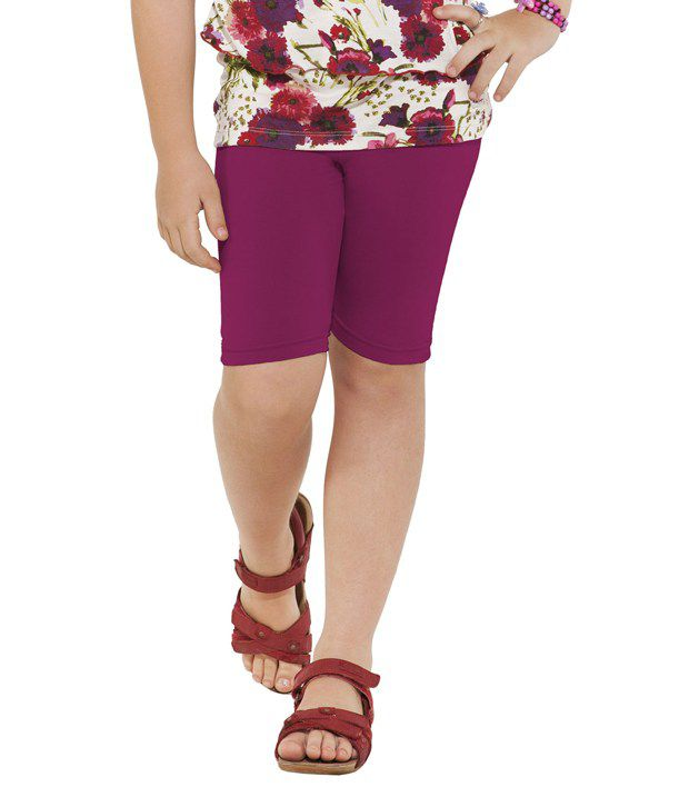 Go Colors Pink Shorts For Girls