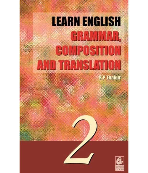 Learn English Grammar Composition Translation 2 Anglo Hindi