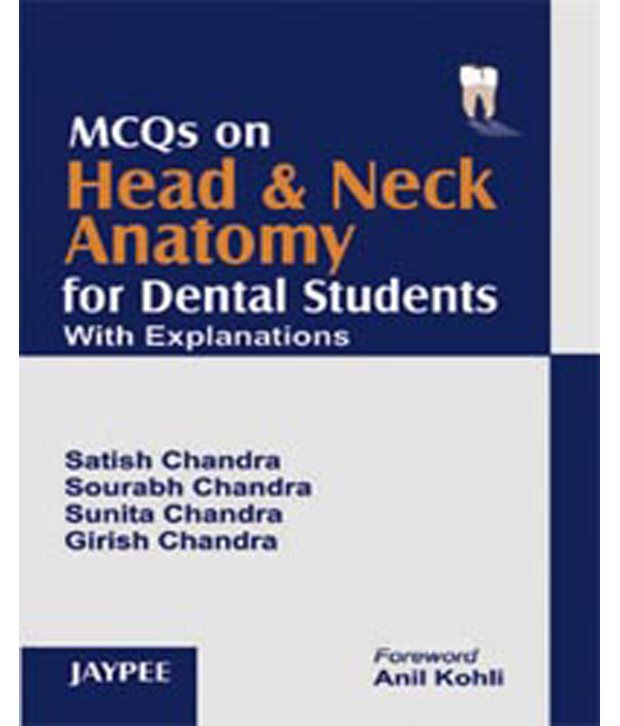Mcqs On Head And Neck Anatomy For Dental Students With Explanations ...