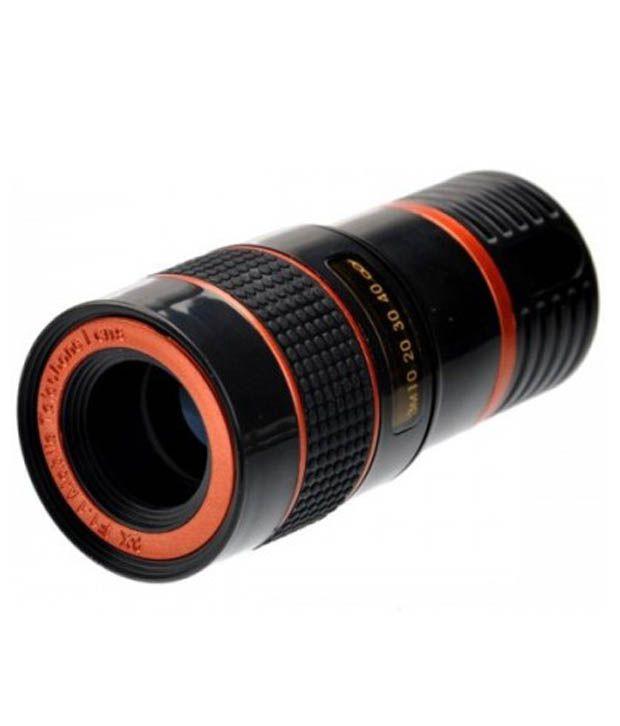 DyMate 8x Zoom Universal Mobile Lens - Black