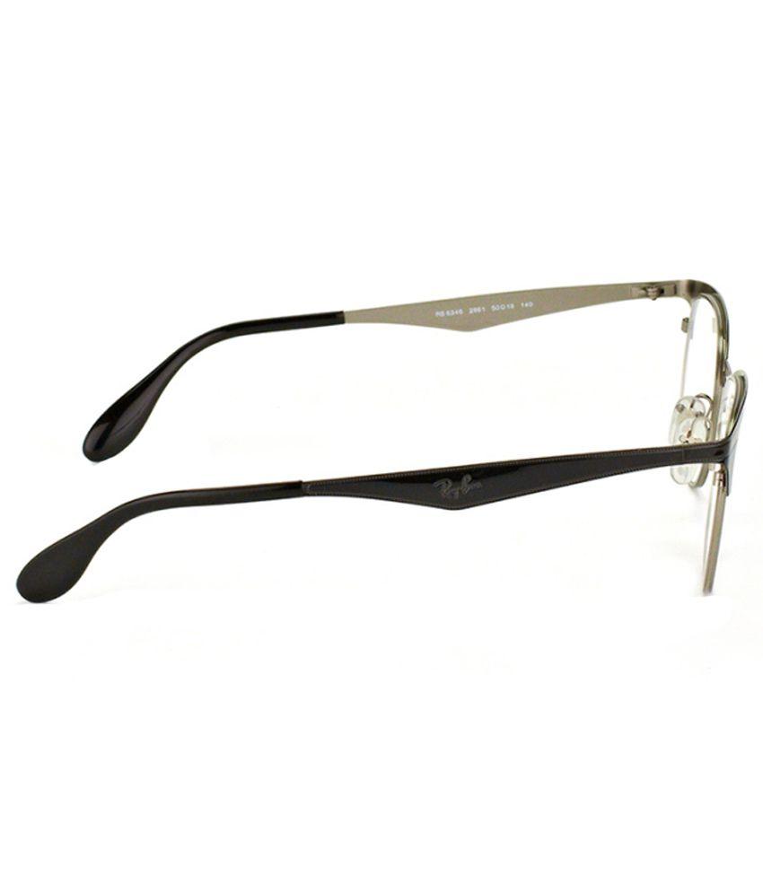 481946a391 Ray-Ban Men RX-6346-2861-52 Clubmaster Full Rim Eyeglasses - Buy Ray ...