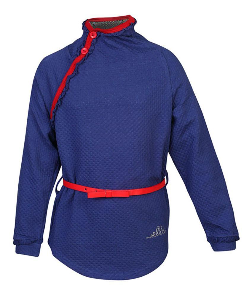 ELLO Blue Without Hood Sweatshirt