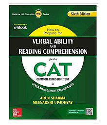How to Prepare for Verbal Ability and Reading Comprehension for the CAT Paperback (English) 6th Edition