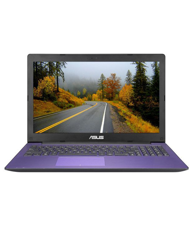 Asus A553MA-XX1147D Notebook (90NB04X3-M26900) (Intel Pentium- 4 GB RAM- 500 GB HDD- 39.62 cm (15.6)- DOS) (Purple)