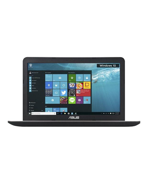 Asus A555LA-XX1560T Notebook (90NB0651-M27560) (4th Gen Intel Core i3- 4 GB RAM- 1 TB HDD- 39.62 cm (15.6)- Windows 10) (Black)