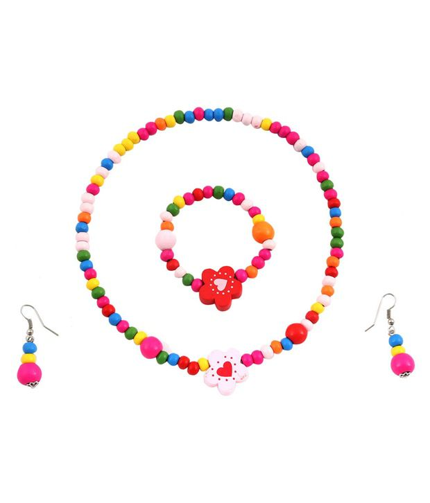 Hawai Multicolour Style Diva Designer Necklace Set