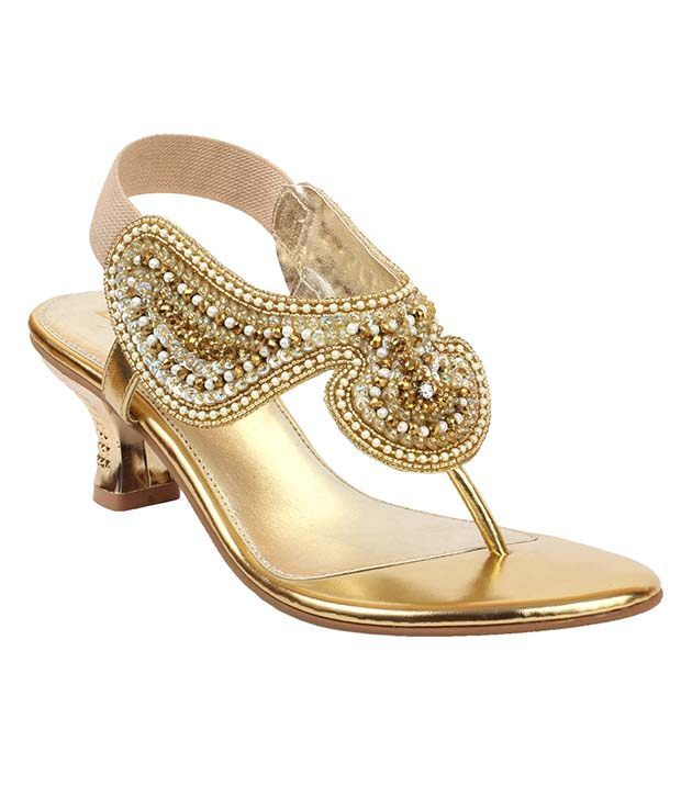 Liza Gold Slip-on