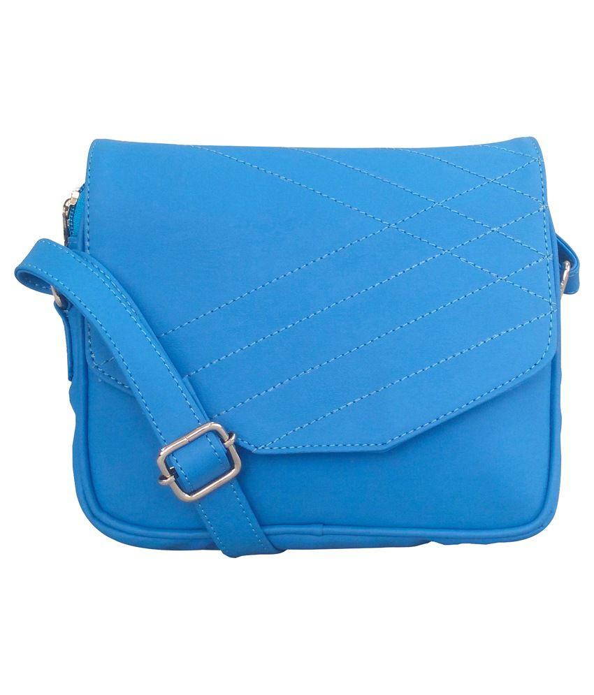 Toteteca Bag Works Blue Sling Bag
