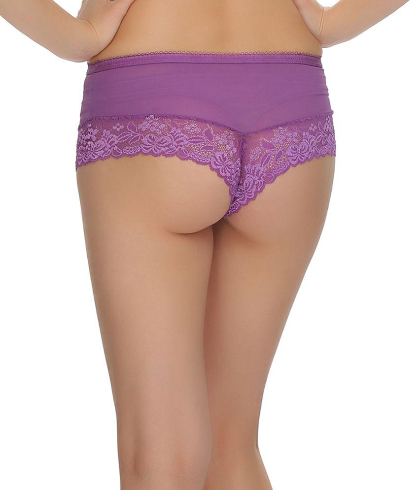 d2871dedf Buy Clovia Purple Panties Online at Best Prices in India - Snapdeal