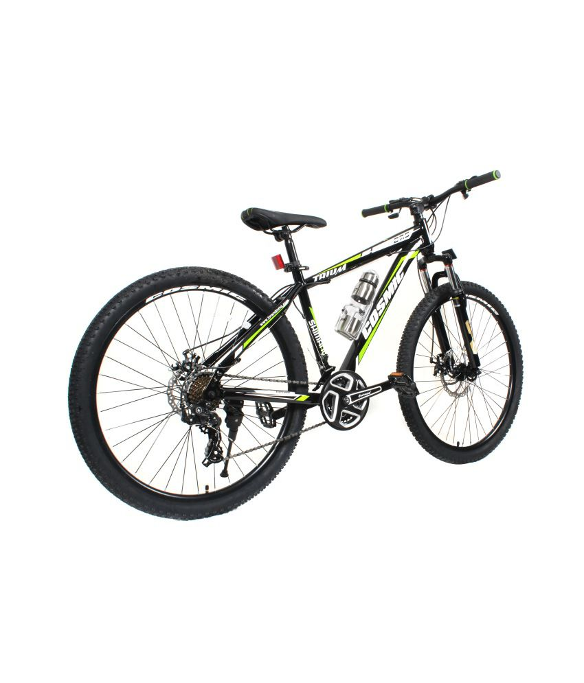 10a0196c1b4 ... COSMIC TRIUM 27.5 INCH MTB BICYCLE 21 SPEED BLACK/GREEN-PREMIUM EDITION  ...