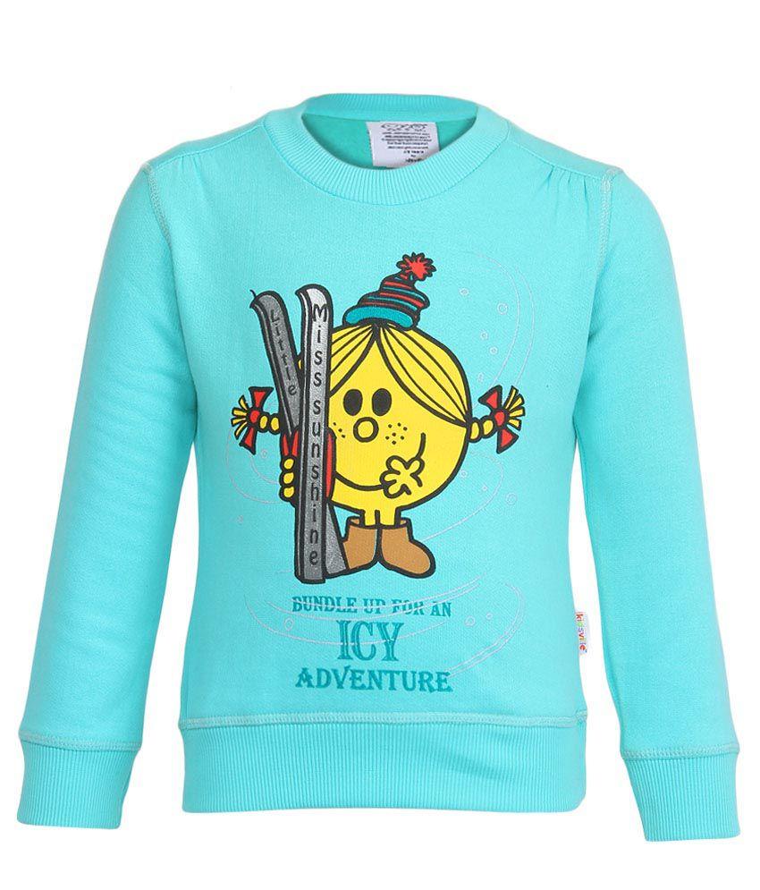 MMLM Blue Crew Neck Sweatshirt