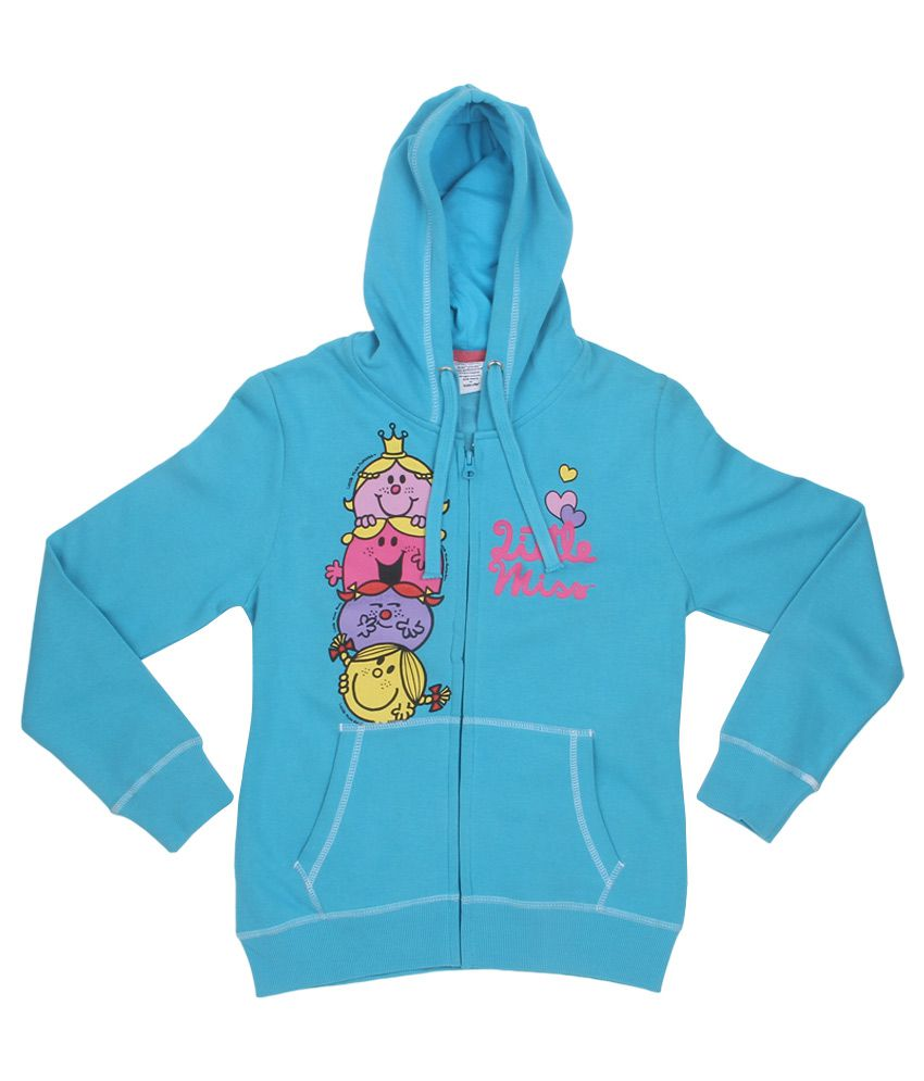 MMLM Blue With Hood Sweatshirt