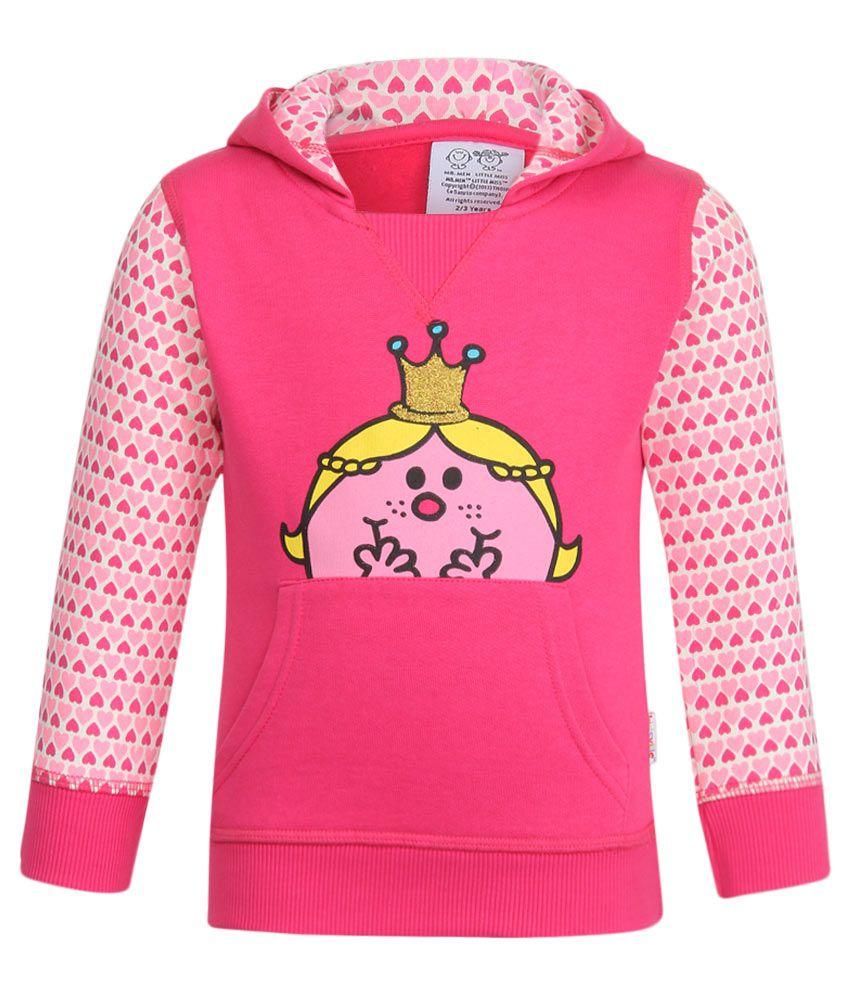 MMLM Pink With Hood Sweatshirt