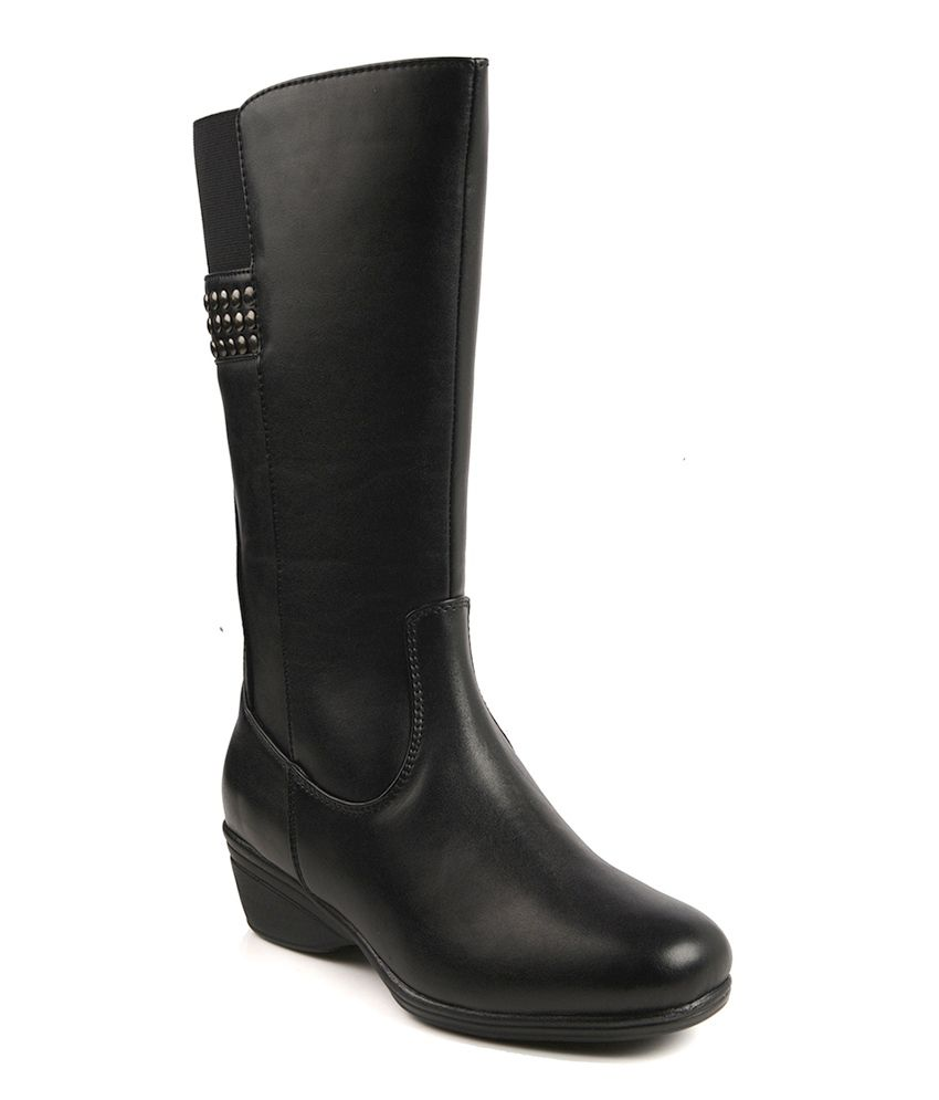 Bruno Manetti Black Boots
