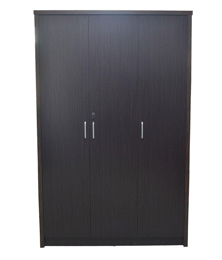 Eros 3 Door Wardrobe Almirah Buy Online At Best Price In