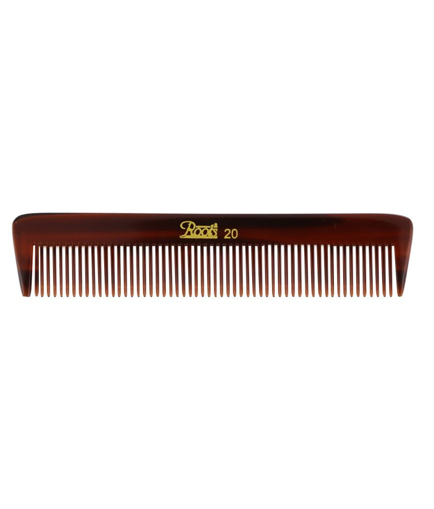 Roots Brown Pocket Comb (Pack of 7)