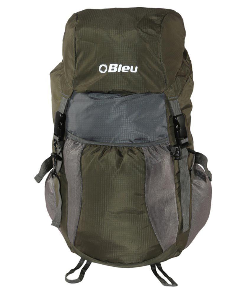 Bleu Green And Grey Backpack