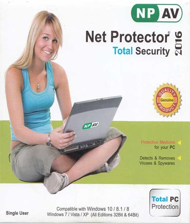 Net Protector Antivirus 2016 ( 1 / 1 ) DVD