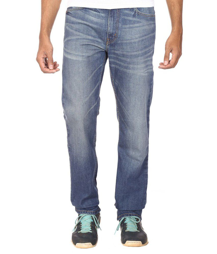 Levi's Blue Regular Fit Jeans