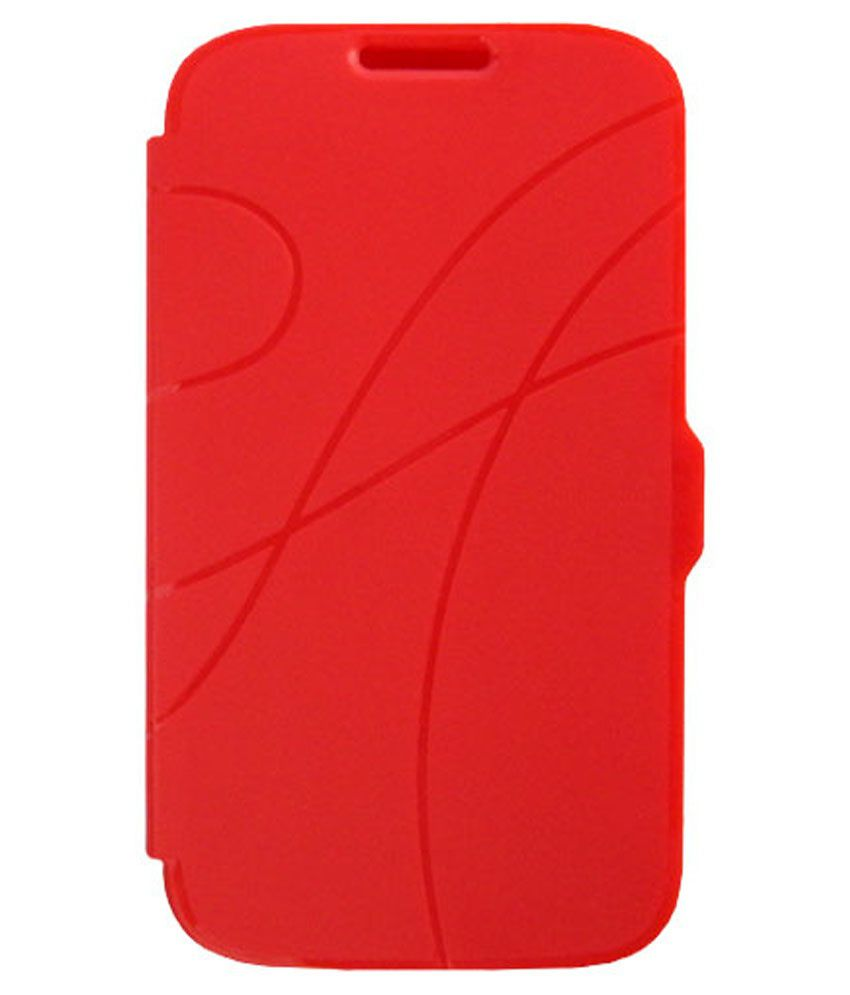 ACM Flip Cover For Samsung Star Pro S7262-Red