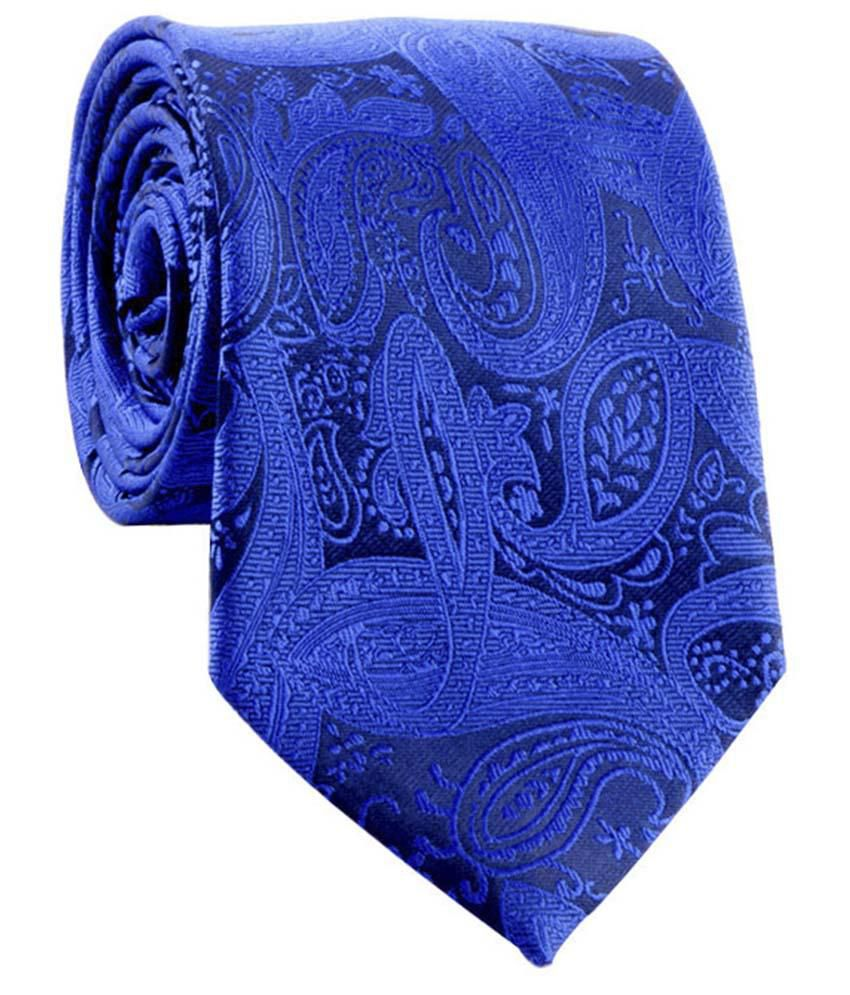 Cazzano Blue Formal Knitted Tie