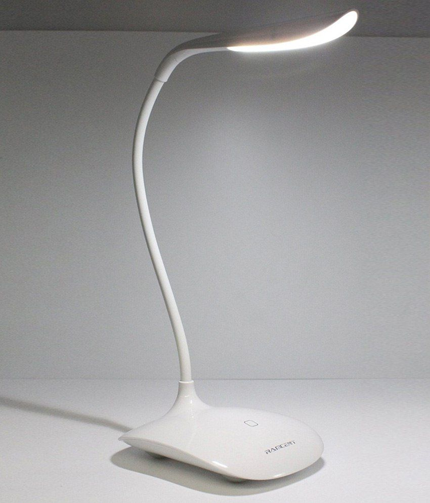 ramcent 3w white desk lamp with usb cable buy ramcent 3w white desk rh snapdeal com