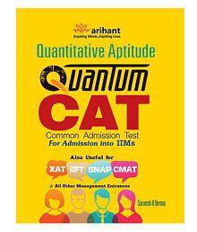 Quantitative Aptitude Quantum CAT for Admission into IIMs Paperback (English) 5th Edition