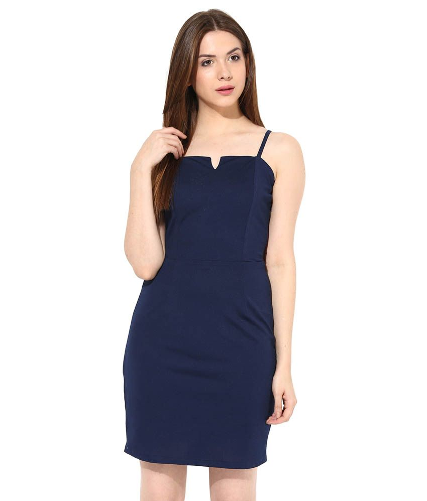 c1d8a803b9a0 Miss Chase Navy Mini Bodycon Dresses For Women Casual Wear - Buy Miss Chase  Navy Mini Bodycon Dresses For Women Casual Wear Online at Best Prices in  India ...