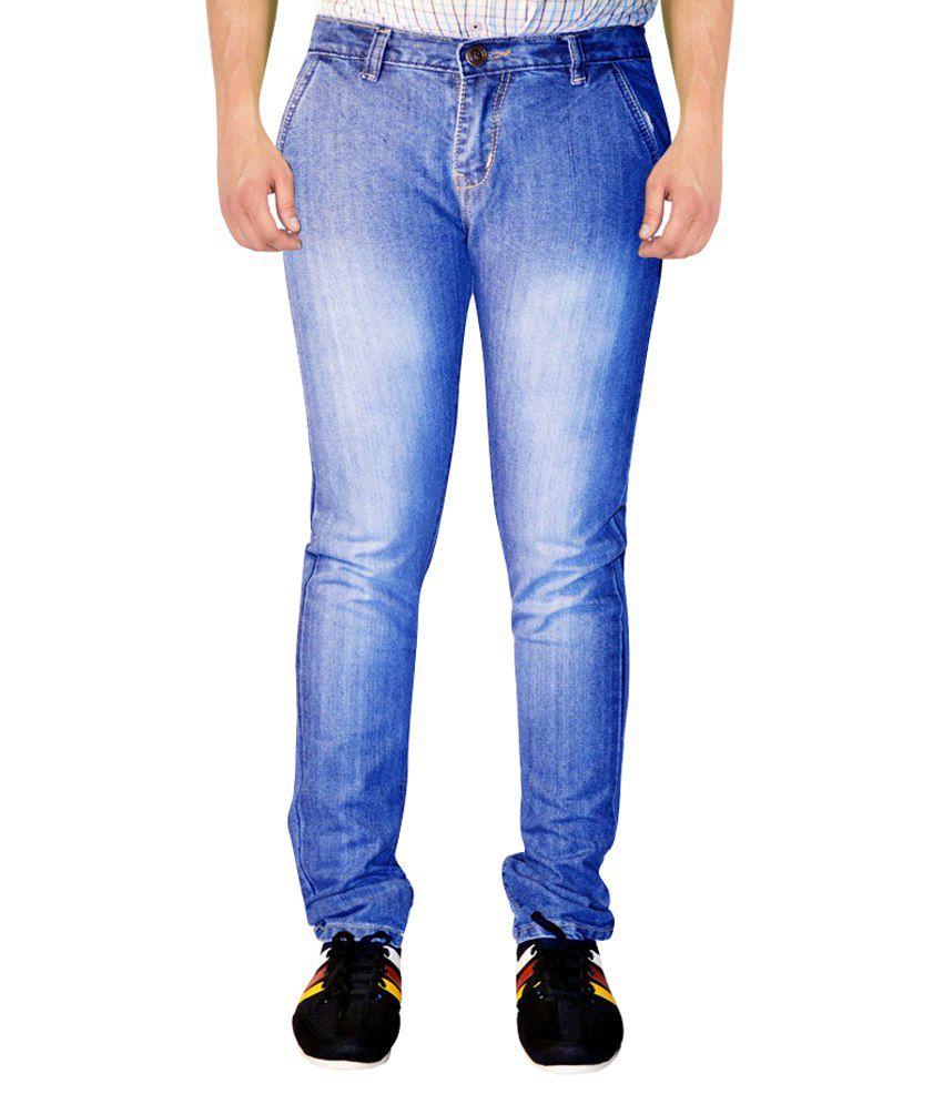 Mrf Blue Slim Fit Jeans