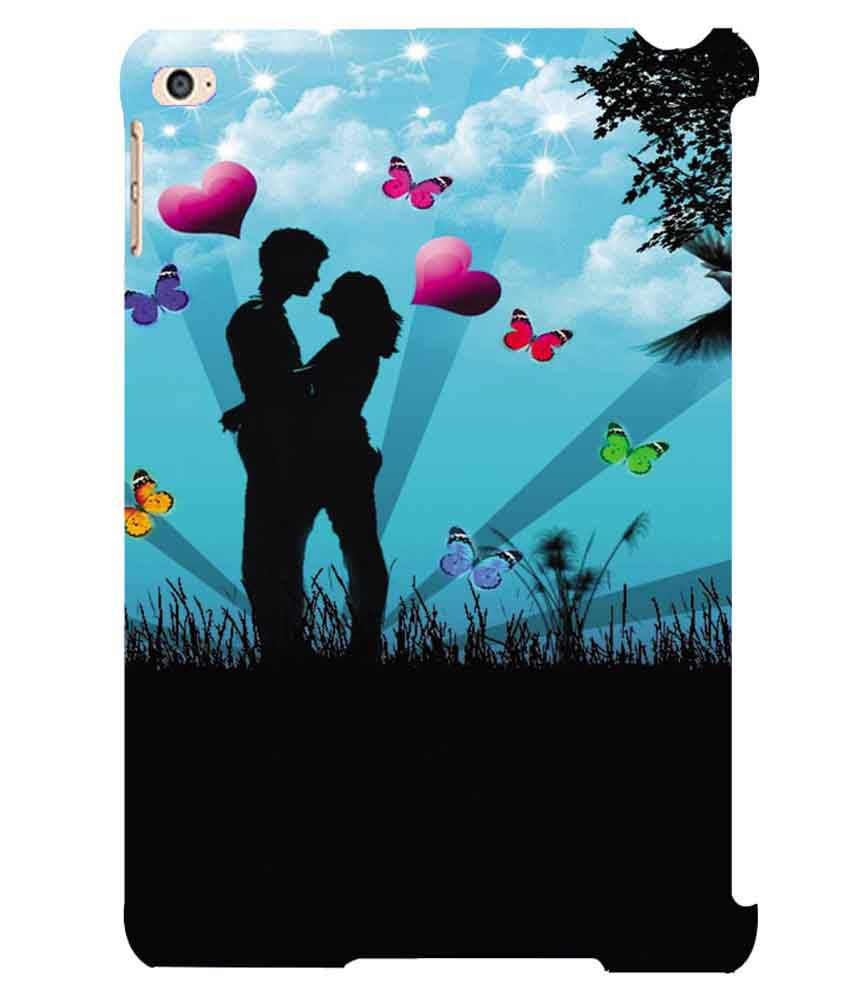 Printvisa Love Couple Designer Back Cover Case for Apple iPad Air 2