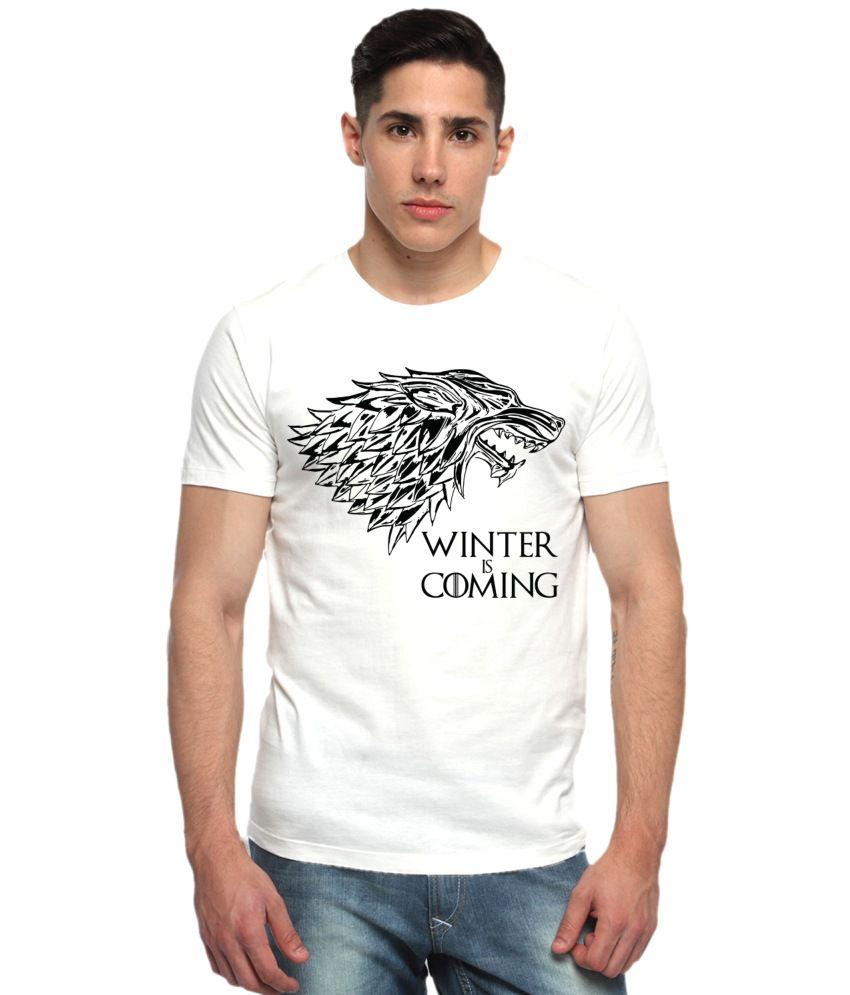 Adro Off-white Cotton T-shirt