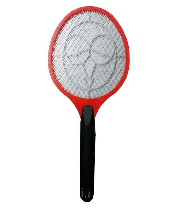 Kazka Red Rechargeable Mosquito Bat/Racket