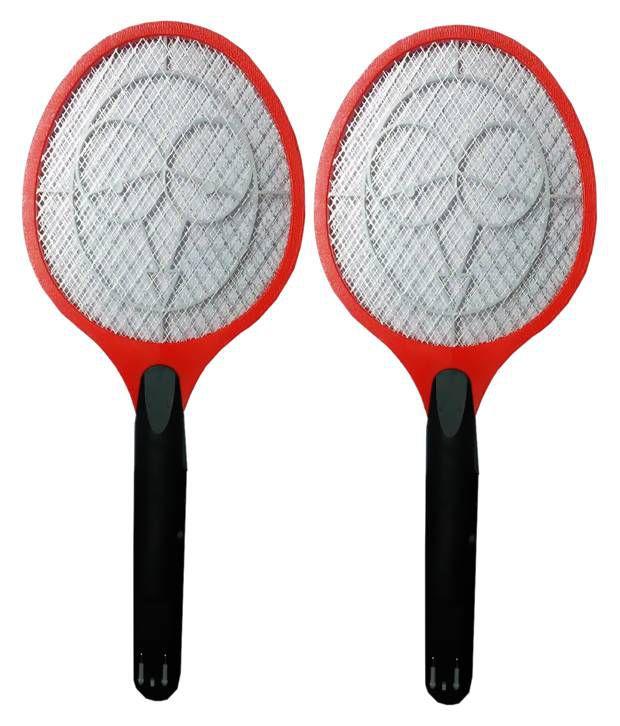 Kazka Electric Rechargeable Plastic Mosquito Killer Batracket Set