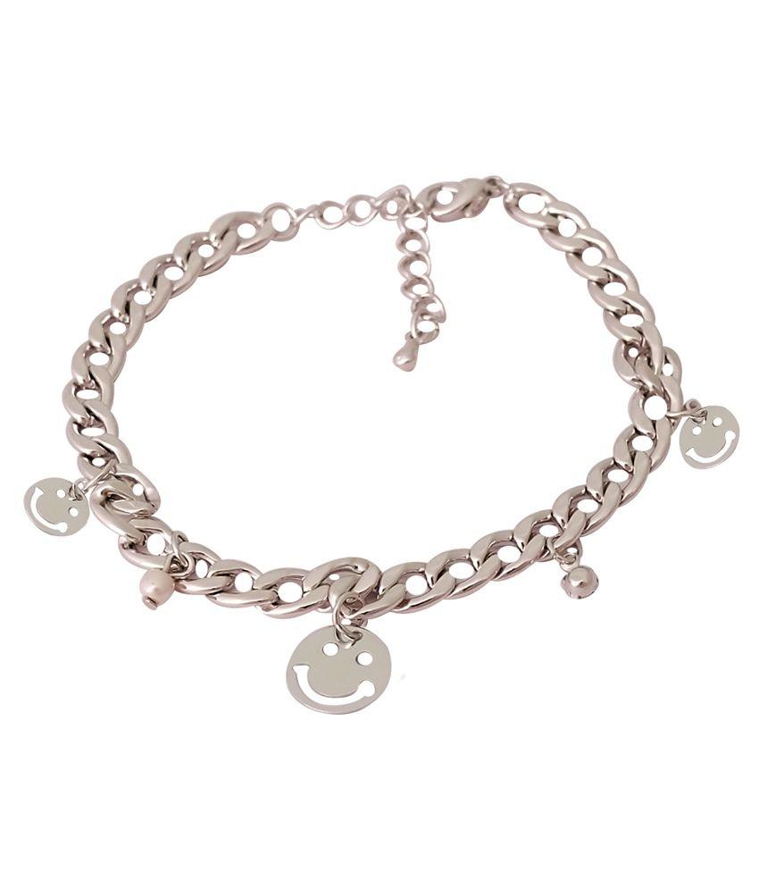 Super Drool Silver Alloy Charm Bracelets