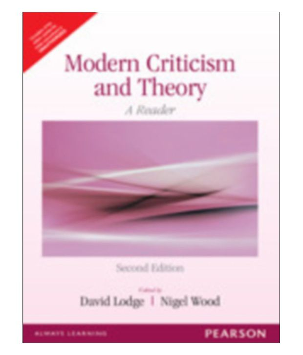 modern criticism and theory pdf