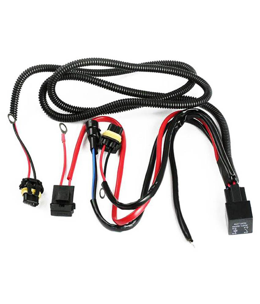 Sdwav Car H8 Fog Light Wiring Harness With Relay For ... on