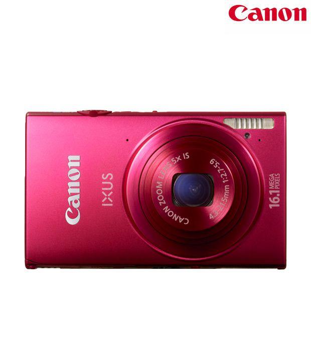 Canon IXUS 240HS 16.1MP Digital Camera (Red)