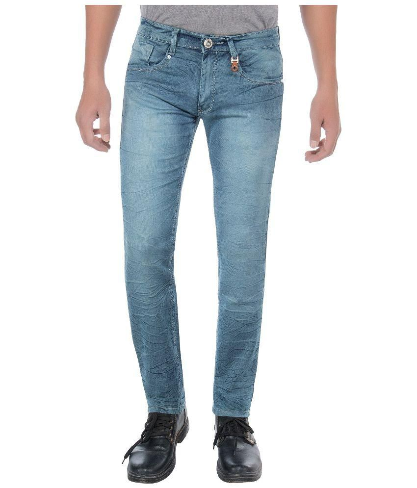 Frenzy Blue Slim Fit Jeans