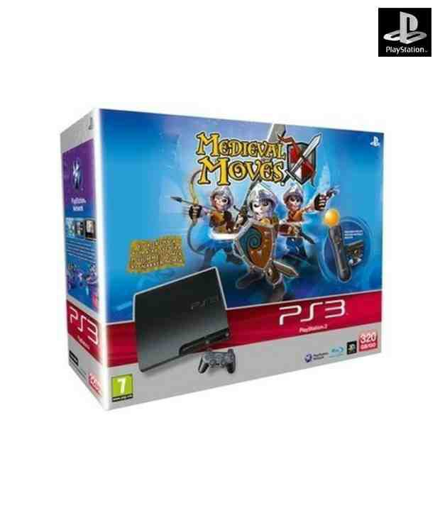 Sony PS3 320 GB Medieval Moves Bundle